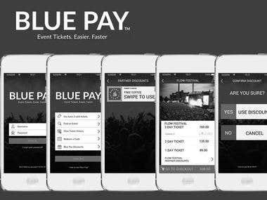 Blue pay app
