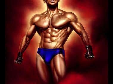 Gym man