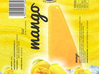 Ice Cream Popsicle Packaging