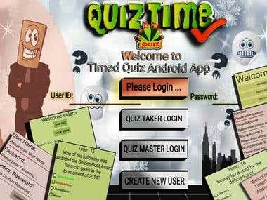 Timed Quiz App