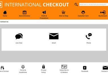 International Checkout-Ecommerce