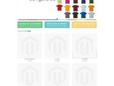 T-Shirt Design - Magento