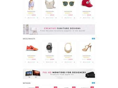 Shop Now - Build a commercial Prestashop template