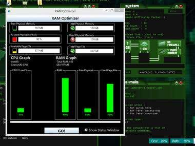 RAM Cache monitoring and Optimizer
