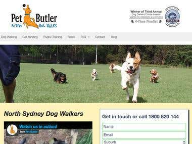 WordPress - Petbutler
