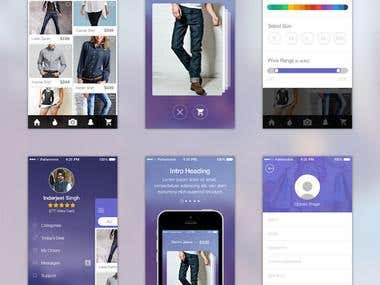Shopping app Ios