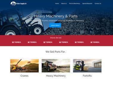 Fisher Supply Website