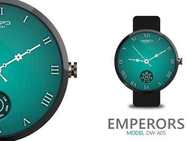 Android Wear Watchfaces - DroiipD