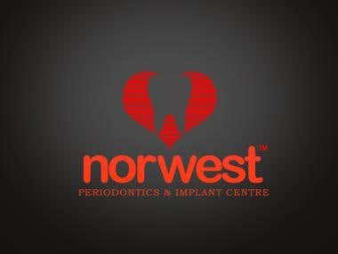 Logo design for 'Norwest'
