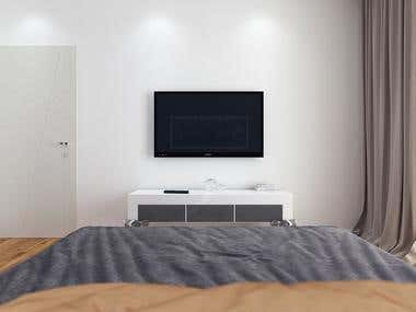 Conventional bedroom