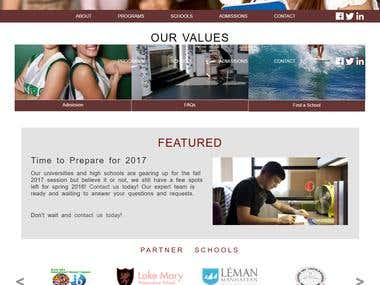 Upp College Website