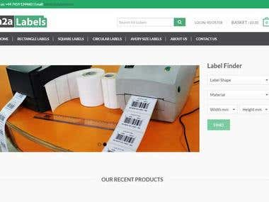 Label Website