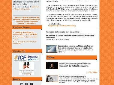 newsletter design & code