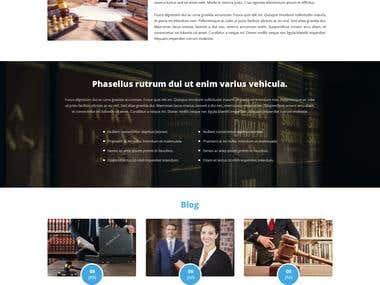 Custom Wordpress theme design