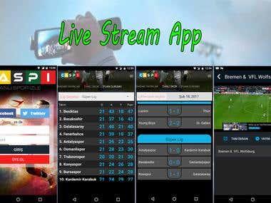 Live Stream App