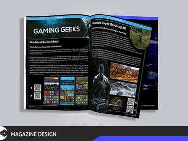 Gaming Magzine
