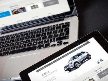 Sitio Web Hyundai Bolivia