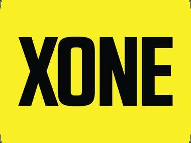 XONE App Stylesheet and App Icon Design