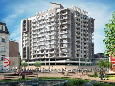 3D Housing Building For Kenya