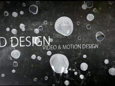 Post Production, 3D, Animation, Motion Design