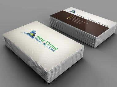 New Virtuel - business card