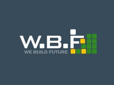 WBF we build future logo