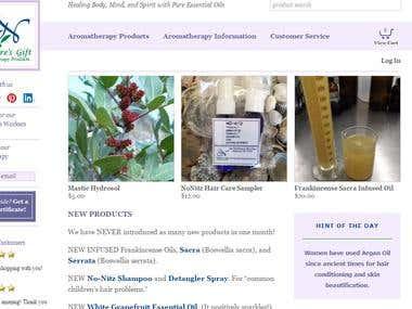 ecommerce website for gift