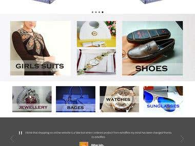 Opencart Based Ecommerce Website-Online Shopping