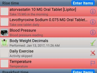Daily HealthCare ANDROID & IOS App