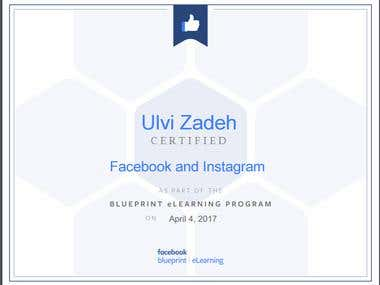 Facebook Blueprint Certificate: Facebook and Instagram