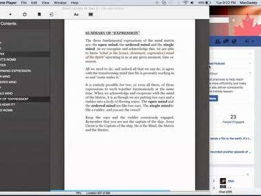 Example of a Mobi (Kindle ebook) file with fluid width