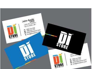 di brand logo