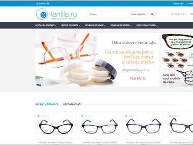 e-lentile.ro magento shop