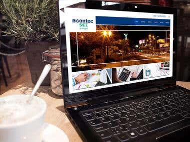 Sitio Web Contec Ltda.