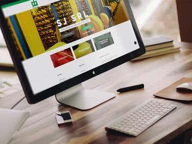Sitio Web Industria SJ