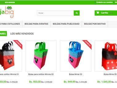 Tienda de Bolsas Ecológicas - najabig.com