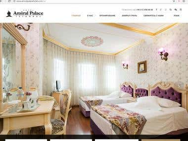 Translation of hotel site into Russian in Istanbul