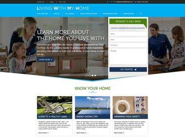 Website Design - Living With My Home