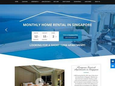 Website Design - LMB Housing Service