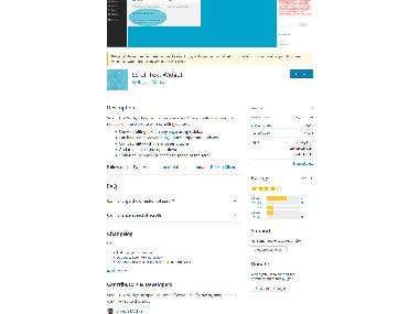 Scrool-Text - WordPress Plugin