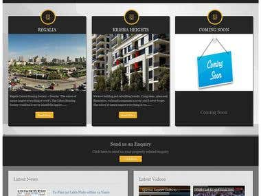 PHP Website - Housing Color Society (Real Estate)