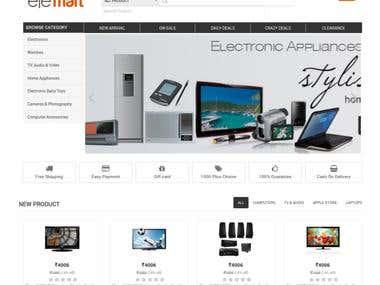 Elemart Shopping Website