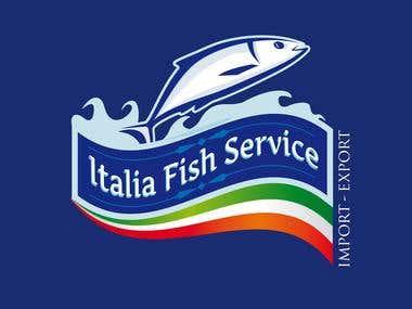 italia fish logo