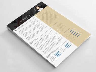 Modern Resume & cover letter Design