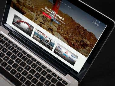 Sitio Web Comsi Ltda