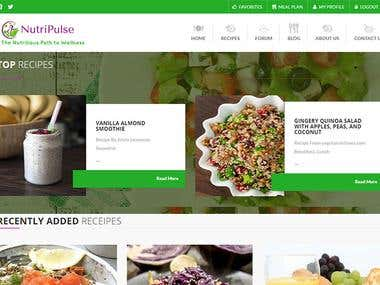 Recipe Site (PHP Website Development)