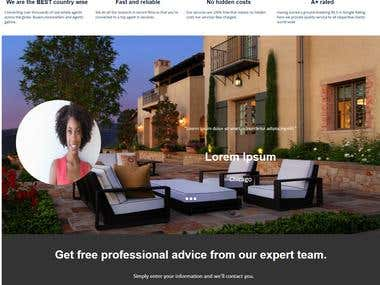 MyAgentSearch : Real Estate Website.