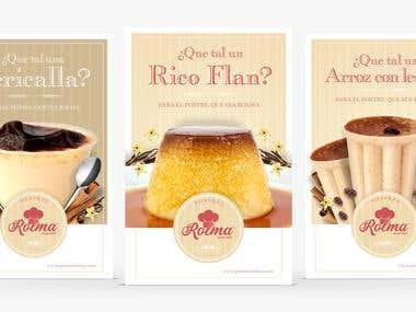 Brand Identity - Rolma Desserts