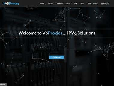 V6Proxies.com--IPV6 Proxies Project & socks5 static/rotated