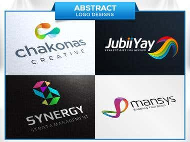 Abstract (Logo designs)